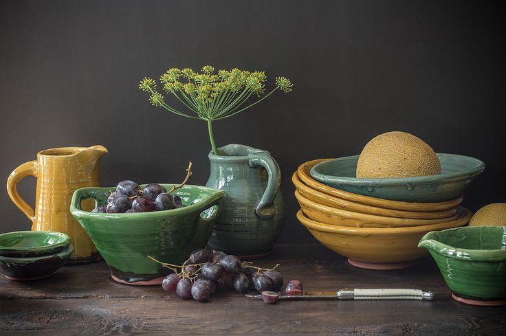 tony-sly-pottery   Rustic