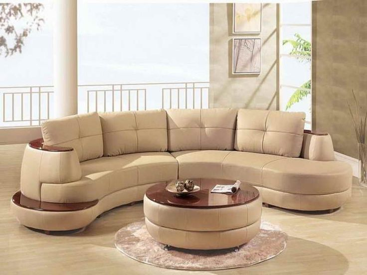 Leather Sectional Sofas For Small Spaces With Round Table - Sofa Kleine Räume