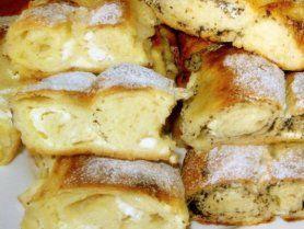 Mákos-túrós, kelt rétes recept
