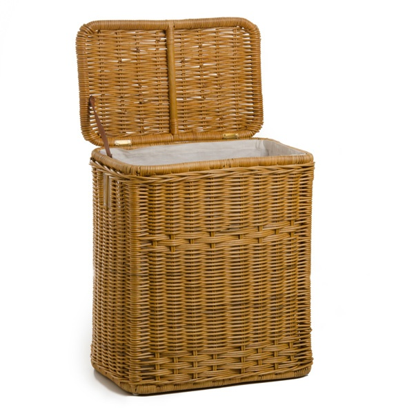 Narrow rectangular wicker laundry hamper products wicker hamper and hampers - Narrow laundry hamper ...