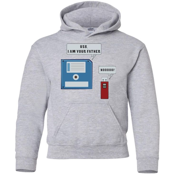 Funny Computer Nerd Geek Unisex Hoodie for Men Women Boys Girls Youth Kids Plus Size