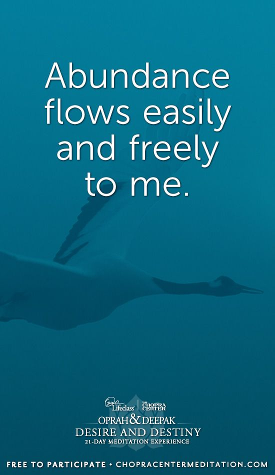 Welcome to Day 3: Confident Me - If you have not yet registered to participate in the program, please visit http://chopracentermeditation.com to begin meditating with us for FREE!  May you find yourself living in the flow of grace and ease. Namasté.