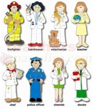 new miniature printables | Bulletin Board Set Community Helpers from TeachersParadise.com ...
