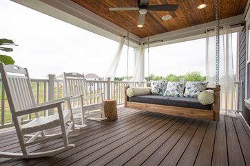Jerome Village Lot 125 - transitional - porch - columbus - Romanelli & Hughes Custom Home Builders
