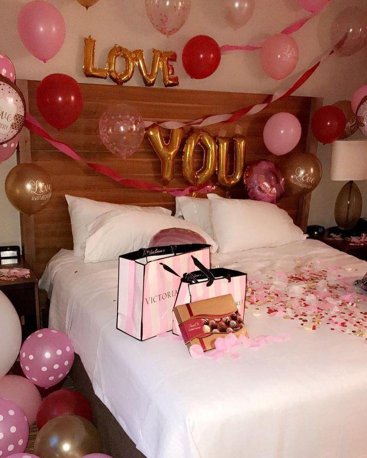 Create A Romantic Valentine S Day Bedroom Using Your 5 Senses Fun Home Design Romantic Hotel Rooms Romantic Bedroom Decor Romantic Room Surprise