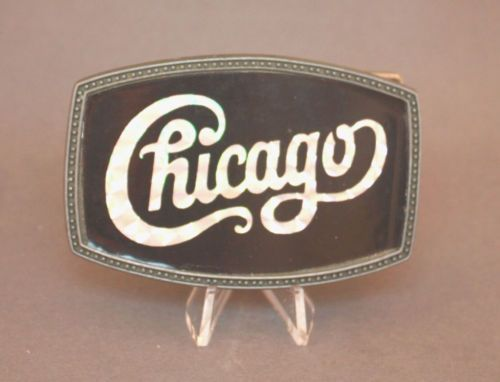 Vintage Chicago belt buckle available at our eBay store!