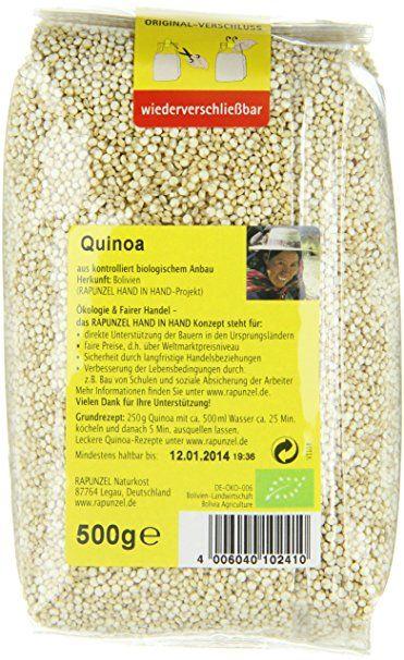 Rapunzel Quinoa HIH, 1er Pack (1 x 500 g) - Bio: Amazon.de: Grocery