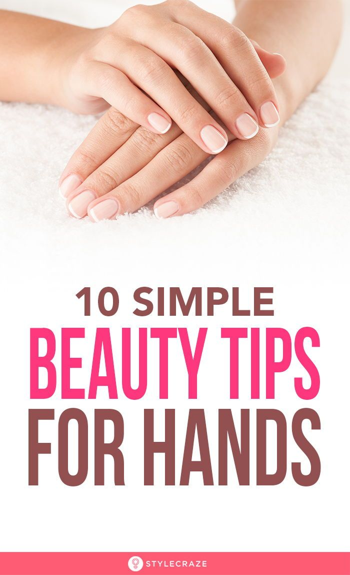 12 Simple Beauty Tips For Hands At Home  Beauty hacks, Beauty