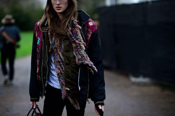 London Fashion Week Fall 2016 Street Style, Day 4 - -Wmag