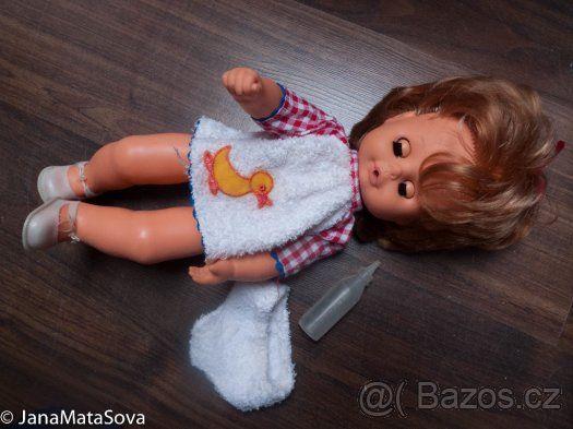 Retro panenka, mrkačka, 80.léta - 1