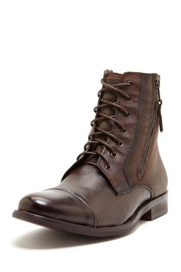 Kenneth Cole Reaction Hit Men Ankle Boot in Brown