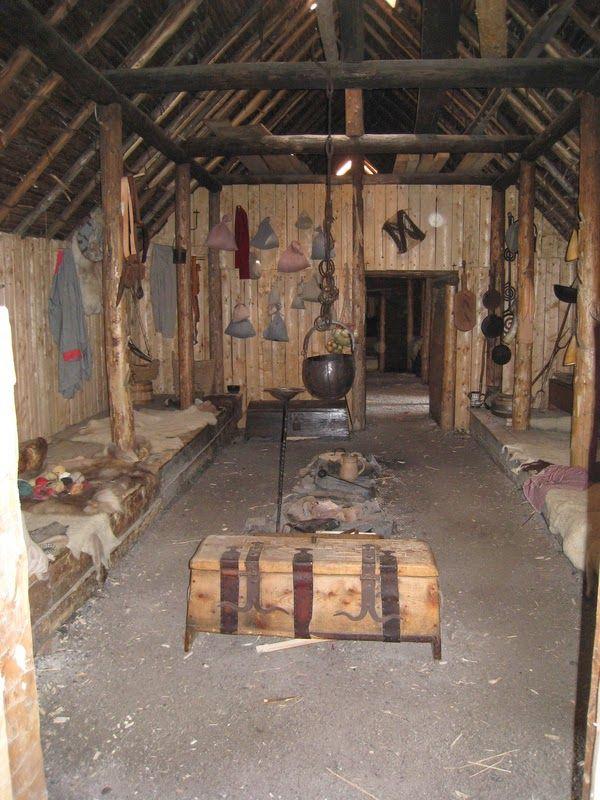 The Crow S Fjord Viking Style Longhouse Decorviking Houselong Houseviking Reenactmentnorse