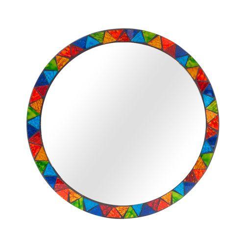 Rainbow Mirror £16 for a 28cm round