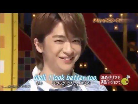 【芸能人の英語力】Hey!Say!JUMP知念侑李の英語力 - YouTube