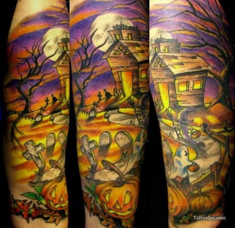 halloween Tattoos | Halloween Tattoo