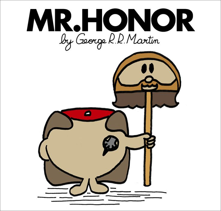 The Mister Men do Game of Thrones