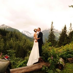 Audra & Shaun in Girdwood, AK  ~ Alaska Wedding ~