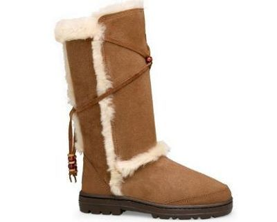 Authentic UGG Women's Tall Boots 5359 Chestnut funny Argyle Knit Ugg Boots,share  with you