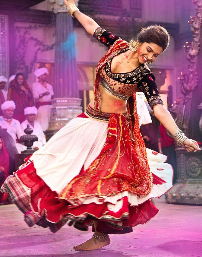 Deepika, Sunny Leone, Ash: Bollywood's ghagra girls - Rediff.com Movies