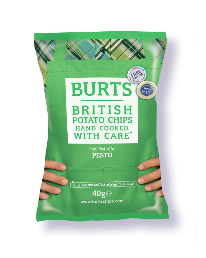 Burts Chips - funny chip bag packaging