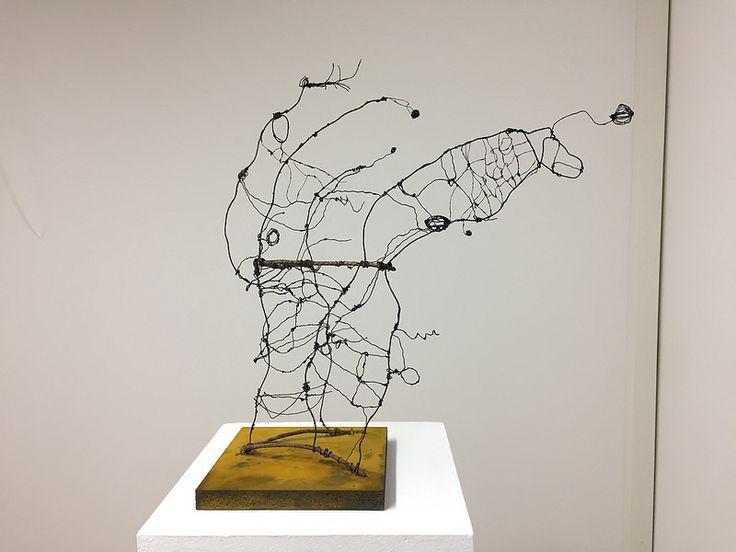 Drahtobjekte - Zeichnen im Raum   von Ellen Ribbe