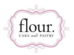 Flour Cake and Pastry Logo designed by @Scout Driscoll, DesignScout.tv. #logo design