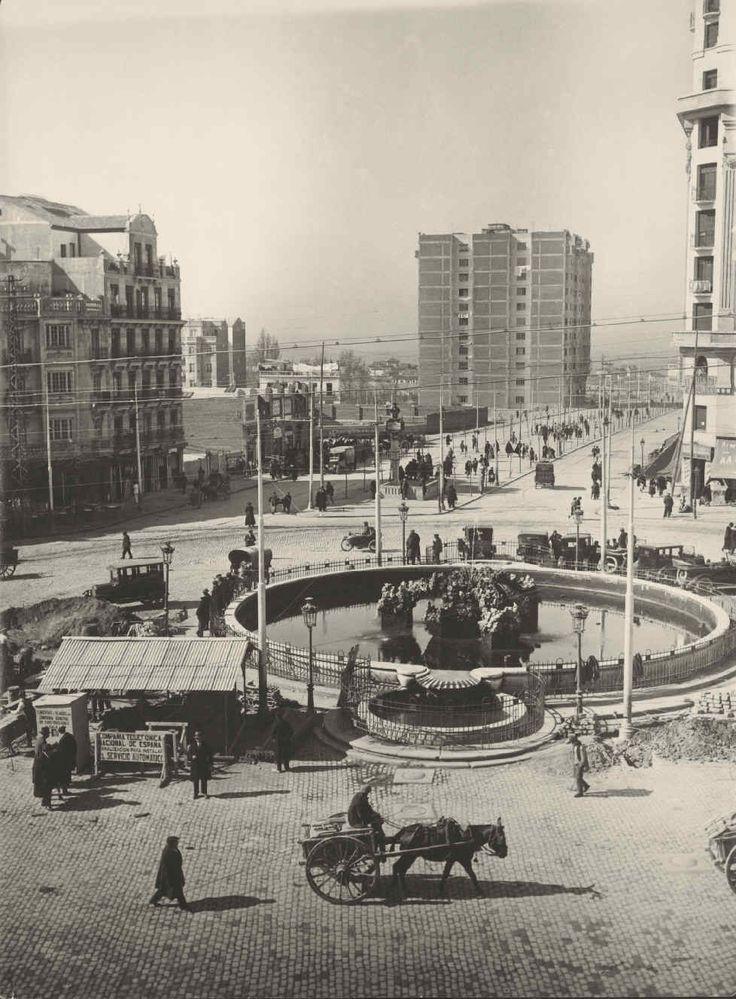 Archivo Fotográfico   Fundación Telefónica España. Cuatro Caminos, 1925