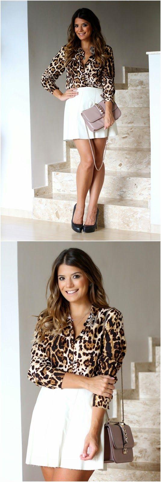Meu look - Camisa    por Ariane Cânovas | Trend alert       - http://modatrade.com.br/meu-look-camisa