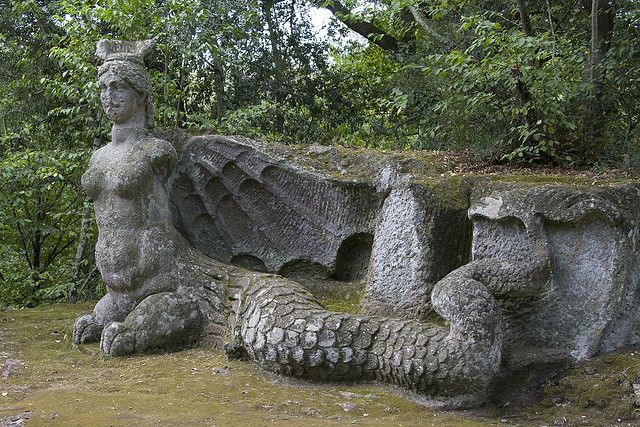 The Park of Monsters, Bomarzo, Italy