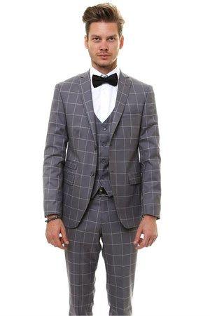 WSS Wessi Yelekli Takım Elbise