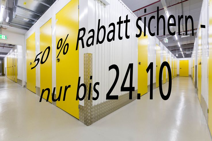 Jetzt besonders günstig bei LAGERBOX in Berlin Neukölln Lagerraum mieten!!  Die Selfstorage Lagerräume in den Größen 4 qm, 4,5 qm, 5 qm und 6 qm sind bis zum 24.10 mit 50 % Rabatt auf die ersten 3 Monate reduziert!! Schnell zuschlagen und günstig Lagerraum sichern. Mehr unter http://www.lagerbox.com/lagerraum-mieten-berlin-neukoelln/