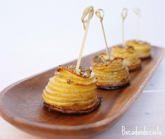 Bocadosdecielo: Patatas para guarnición o aperitivo