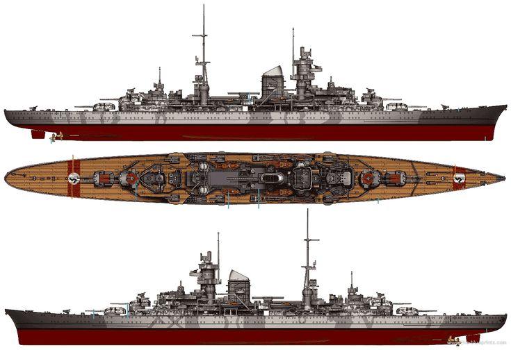 prinz eugen | ... Ships > Cruisers (Germany) > DKM Prinz Eugen (Heavy Cruiser) (1942