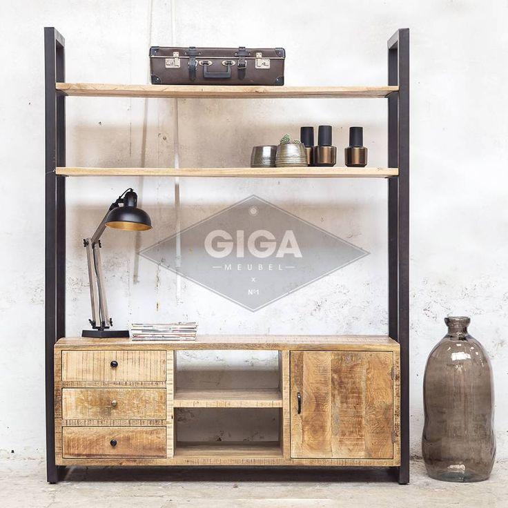 De Grootste industriele collectie meubelen nu bij Giga meubel