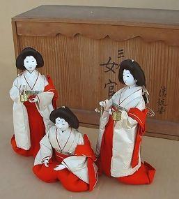 Japanese Antique Hina Doll