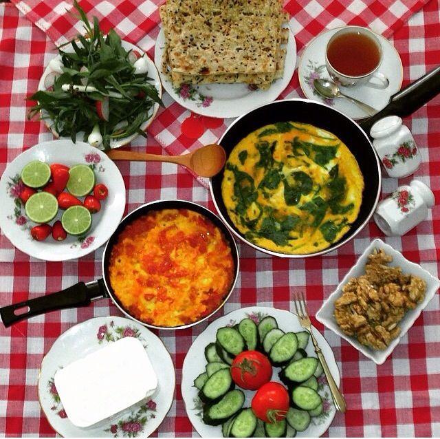 Breakfast, Iranian style