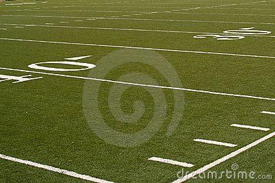 Campo de juego de fútbol americano.