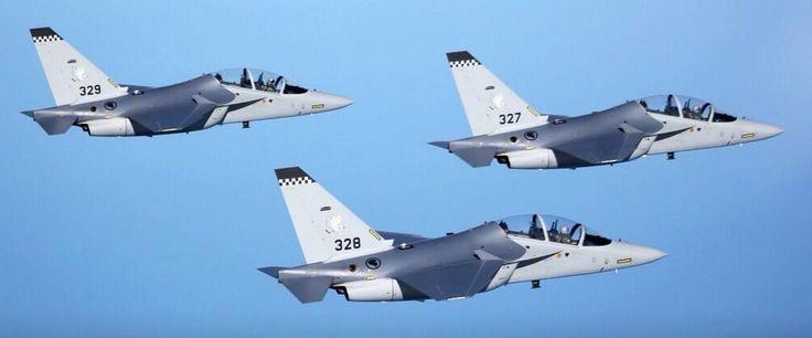 M346 trainer jets