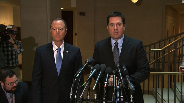 House Intelligence Committee Chairman Devin Nunes said neither he nor the ranking Democrat on the committee have seen any evidence that then-President Barack Obama wiretapped Donald Trump last year.
