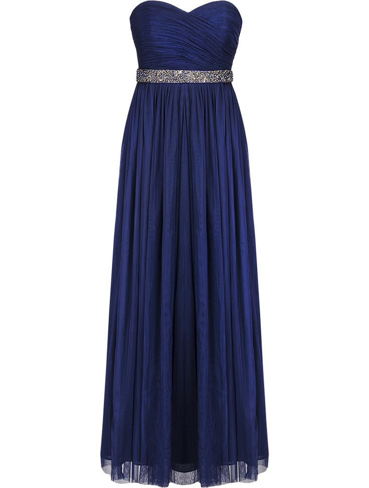 Navy Monique Tulle Maxi Dress Wear it 8 Ways!