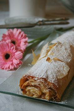 Strudel de pommes (à la pâte filo) - Passion culinaire by Minouchka
