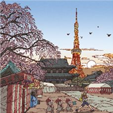 100 views of tokyo picture book