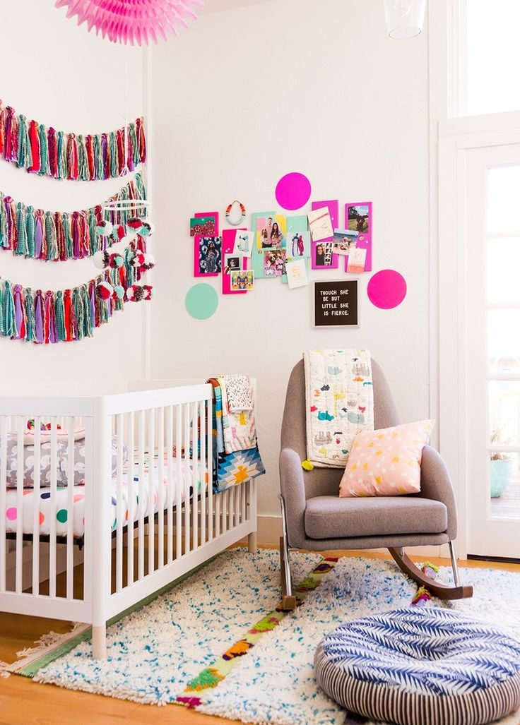 Looking to upgrade your baby nursery? Check out these step-by-step how-to's for colorful DIY decorations perfect for any home! #partner