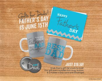 ADPi Father's Day Gift Set $19.50