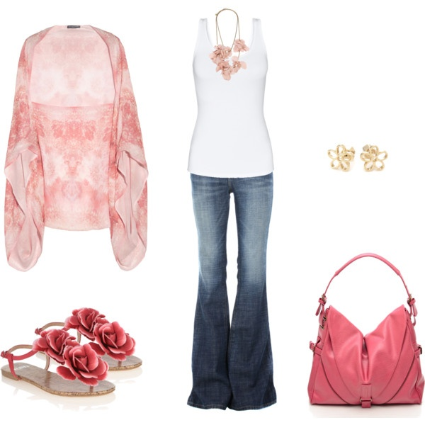 Outfit: Pink Sandals, Alexander Mcqueen, Pink Flowers, Cute Outfits, Pink Outfits, Bohemiandarl Sandals3, Pink Bohemian, Spring Outfits, Bohemian Darling