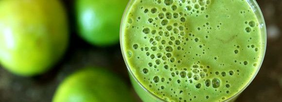 Lime-Oats Green Smoothie