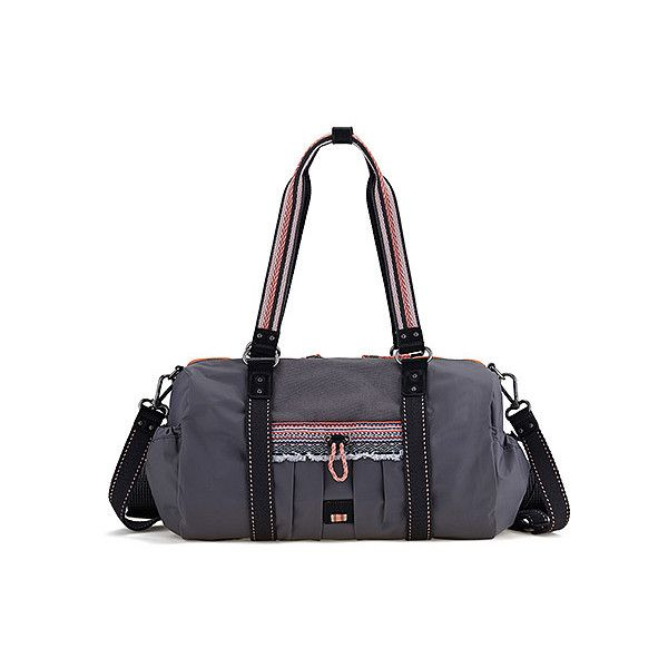 The Sak Pack Nylon Gym Duffel 79 Liked On Polyvore Featuring Bags