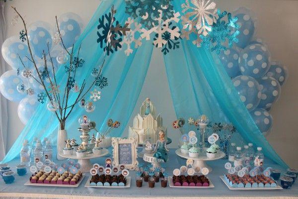 Festa de aniversário: Frozen!