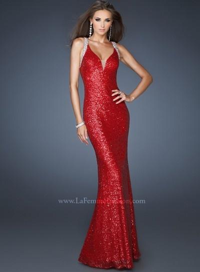 La Femme 18616 #wearredday prom dress #IPAProm