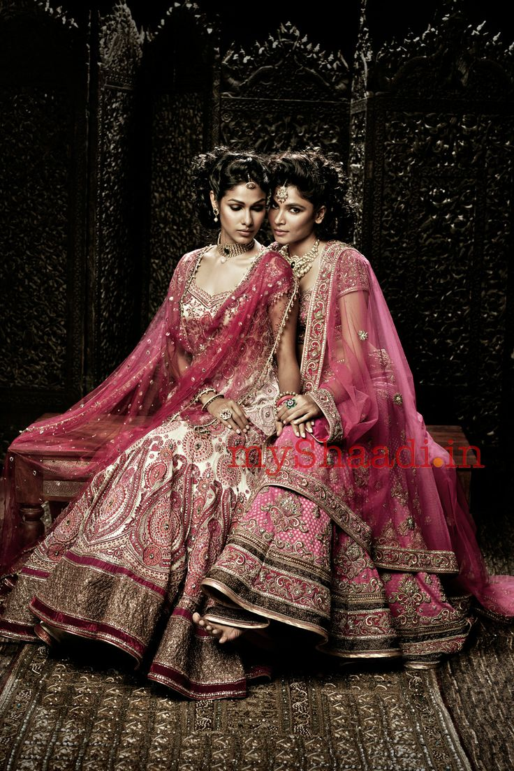 Indian Bridal Wear for #Desi #IndianWEdding by http://www.TarunTahiliani.com/